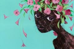 Geoff-Weedon-artist-Flower girl