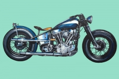 "Jet Bailey ""48 EL Panhead"" Limited edition of 50"
