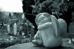 "Sleeping Cherub 26""x 17"" Limited edition print of 25"
