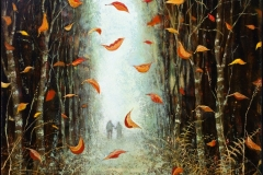 Simon Garden, Autumn signed limited edition print