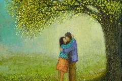 Simon Garden, Lovers signed limited edition print