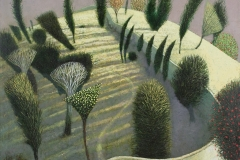Simon Garden, Walled Garden signed limited edition print