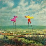 Simon Garden, Stilt-Walkers signed limited edition print