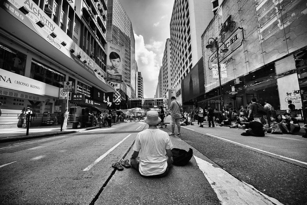 Charlie Eady Photographer Man on Child's Chair