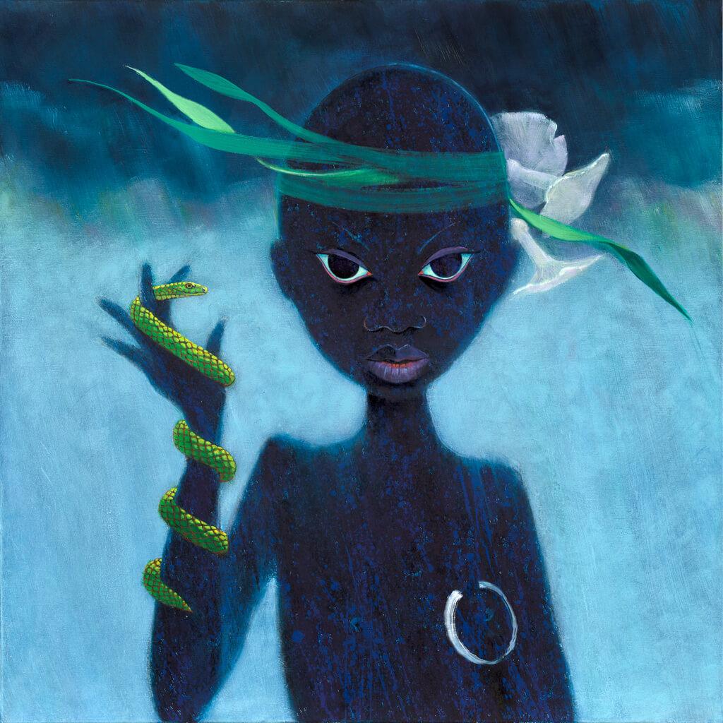 Geoff Weedon Artist she walks in thunder